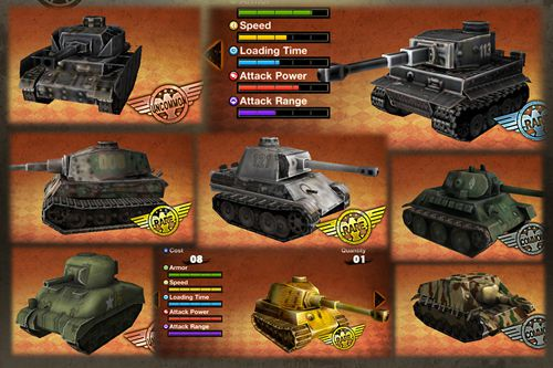 Descarga gratuita de Tanks battalion: Blitz para iPhone, iPad y iPod.