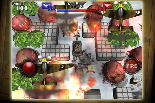 Screenshots of the Tanks battalion: Blitz game for iPhone, iPad or iPod.