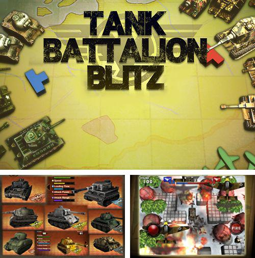 Download Tanks battalion: Blitz iPhone free game.