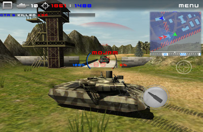 Screenshots of the Tanktastic game for iPhone, iPad or iPod.