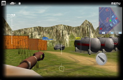 Screenshots do jogo Tanktastic para iPhone, iPad ou iPod.
