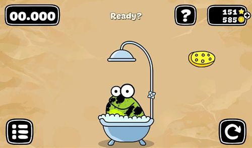 Descarga gratuita de Tap the frog: Doodle para iPhone, iPad y iPod.