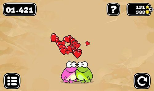 Capturas de pantalla del juego Tap the frog: Doodle para iPhone, iPad o iPod.