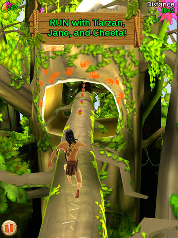 Capturas de pantalla del juego Tarzan Unleashed para iPhone, iPad o iPod.