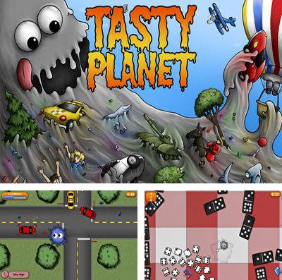 In addition to the game Badland: Brawl for iPhone, iPad or iPod, you can also download Tasty Planet for free.