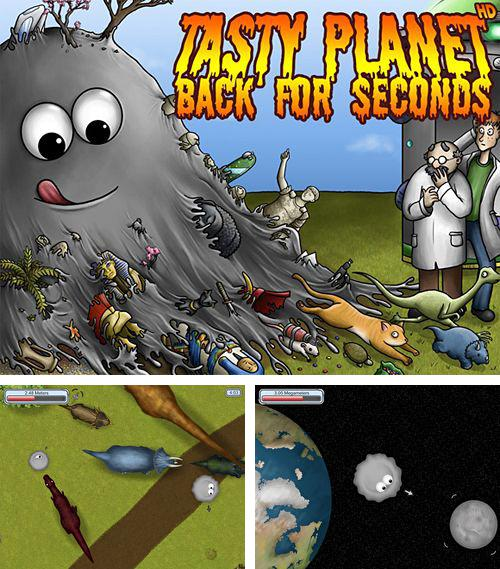 除了 iPhone、iPad 或 iPod 游戏,您还可以免费下载Tasty planet: Back for seconds, 。