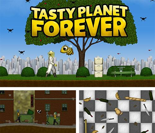 In addition to the game Planet Wars for iPhone, iPad or iPod, you can also download Tasty planet forever for free.