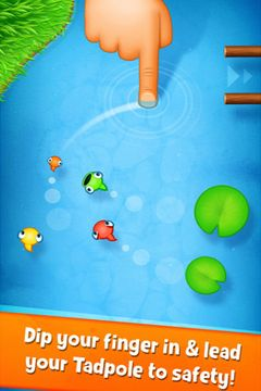 Download Tasty Tadpoles iPhone free game.