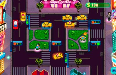 Capturas de pantalla del juego Taxi Fight! para iPhone, iPad o iPod.