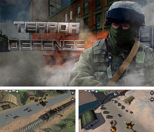 Download TD terror defence iPhone free game.