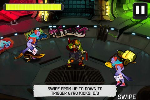 Download Teenage mutant ninja turtles iPhone free game.