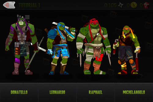 Download Teenage mutant ninja turtles: Brothers unite iPhone free game.