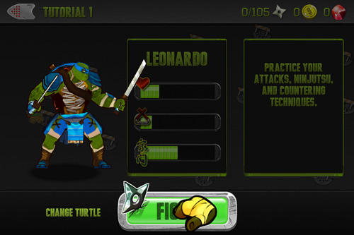 Kostenloser Download von Teenage mutant ninja turtles: Brothers unite für iPhone, iPad und iPod.