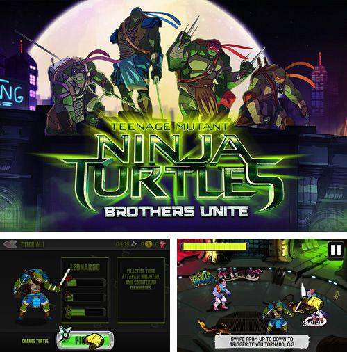 En plus du jeu Solitairica pour iPhone, iPad ou iPod, vous pouvez aussi télécharger gratuitement Tortues ninja: Fraternité pour toujours, Teenage mutant ninja turtles: Brothers unite.