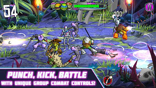 Descarga gratuita de Teenage mutant ninja turtles: Portal power para iPhone, iPad y iPod.