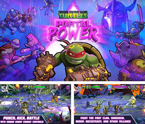 En plus du jeu Les Vaches Méchantes pour iPhone, iPad ou iPod, vous pouvez aussi télécharger gratuitement Tortues ninja: Force des portails , Teenage mutant ninja turtles: Portal power.