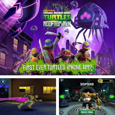 Alem do jogo Tolices para iPhone, iPad ou iPod, voce tambem pode baixar Tartarugas Ninjas, Teenage Mutant Ninja Turtles: Rooftop Run gratuitamente.