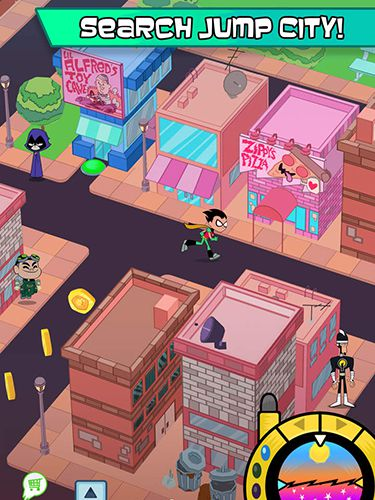 Download Teeny titans iPhone free game.