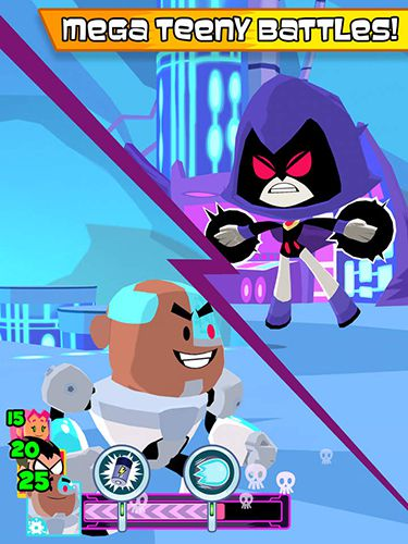 Free Teeny titans download for iPhone, iPad and iPod.
