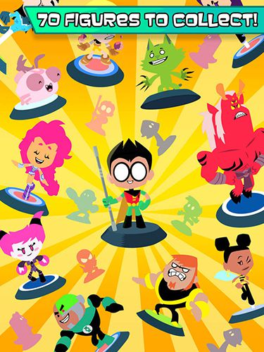 Screenshots of the Teeny titans game for iPhone, iPad or iPod.