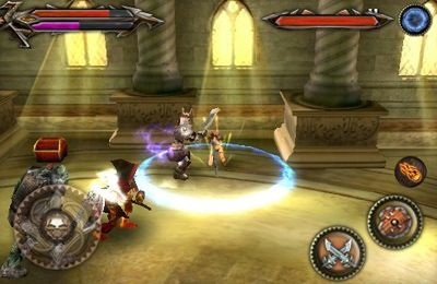 Free Tehra Dark Warrior download for iPhone, iPad and iPod.
