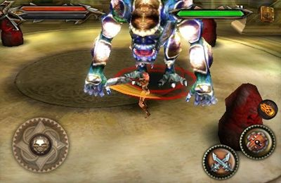 Capturas de pantalla del juego Tehra Dark Warrior para iPhone, iPad o iPod.