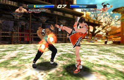 Screenshots of the Tekken Card Tournament game for iPhone, iPad or iPod.
