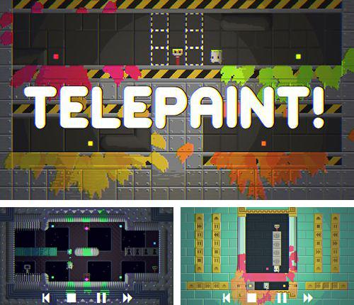In addition to the game Card king: Dragon wars for iPhone, iPad or iPod, you can also download Telepaint for free.