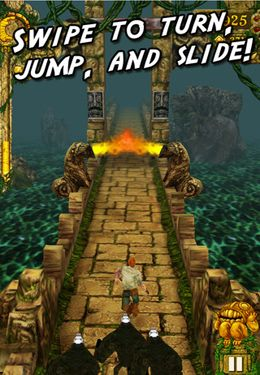 Kostenloses iPhone-Game Temple Run herunterladen.