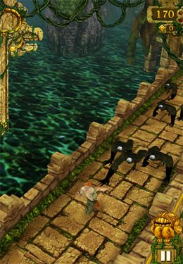 Descarga gratuita de Temple Run para iPhone, iPad y iPod.