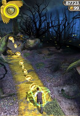 Screenshots do jogo Temple Run: Oz para iPhone, iPad ou iPod.