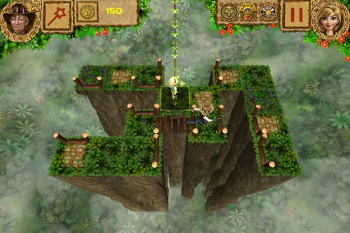 Kostenloser Download von Temple treasure: Adventure puzzle für iPhone, iPad und iPod.