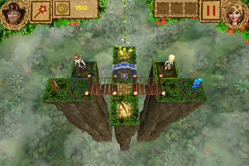 Screenshots vom Spiel Temple treasure: Adventure puzzle für iPhone, iPad oder iPod.