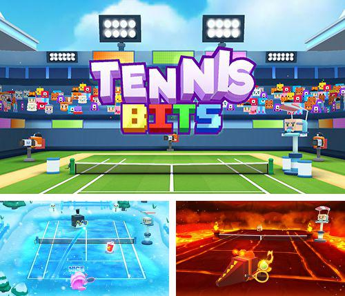 Download Tennis bits iPhone free game.