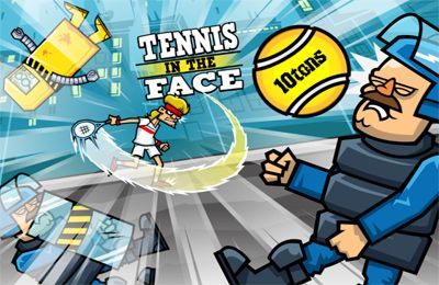 Tennis in the Face!