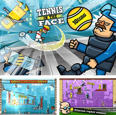 In addition to the game Futurama: Game of drones for iPhone, iPad or iPod, you can also download Tennis in the Face! for free.