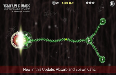 Screenshots of the Tentacle Wars game for iPhone, iPad or iPod.