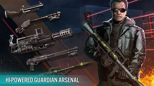 Capturas de pantalla del juego Terminator genisys: Guardian para iPhone, iPad o iPod.