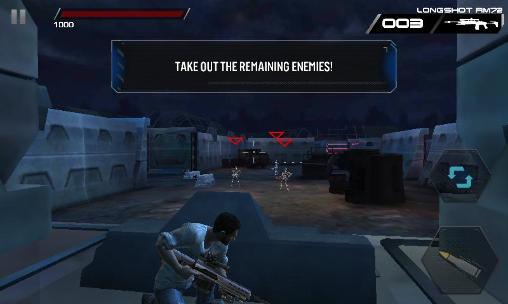 Screenshots of the Terminator genisys: Revolution game for iPhone, iPad or iPod.