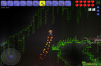 Screenshots do jogo Terraria para iPhone, iPad ou iPod.
