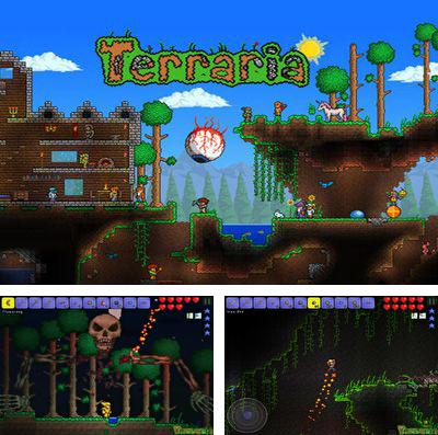 In addition to the game Real Racing 3 for iPhone, iPad or iPod, you can also download Terraria for free.