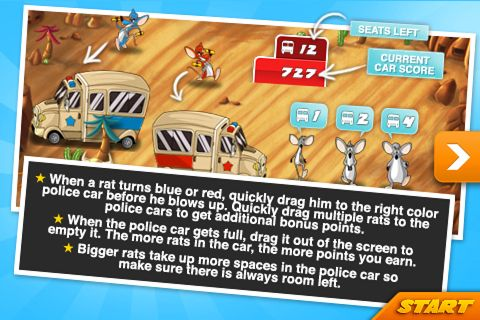 Download Terro rats iPhone free game.