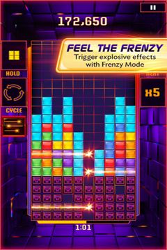 Descarga gratuita de Tetris Blitz para iPhone, iPad y iPod.