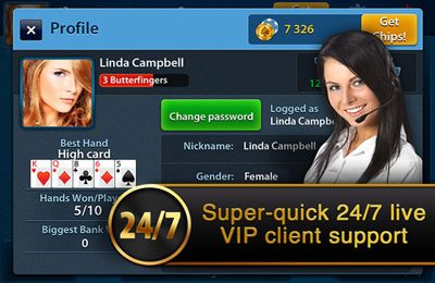 Screenshots do jogo Texas Poker Vip para iPhone, iPad ou iPod.