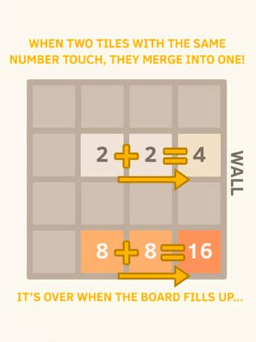 Free The 2048 download for iPhone, iPad and iPod.