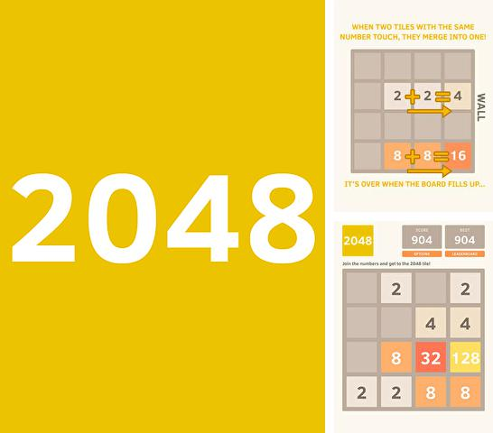 In addition to the game Sky Racer 2 for iPhone, iPad or iPod, you can also download The 2048 for free.