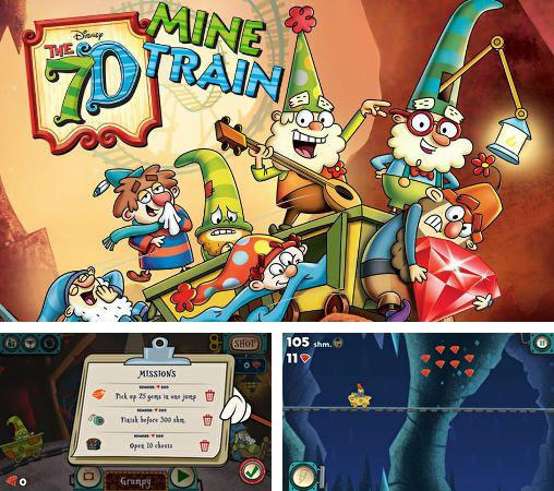 In addition to the game Lucky words for iPhone, iPad or iPod, you can also download The 7D: Mine train for free.