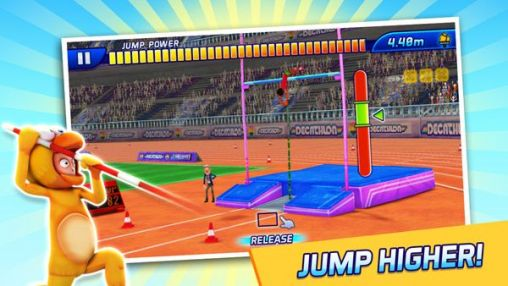 Screenshots vom Spiel The Activision Decathlon für iPhone, iPad oder iPod.