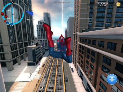 Скачати гру The amazing Spider-man 2 для iPad.