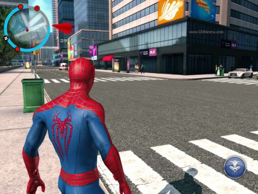 Гра The amazing Spider-man 2 для iPhone